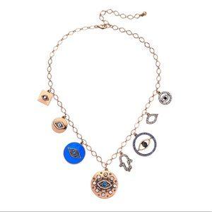 Gorgeous handmade evil eye hamsa necklace NEW